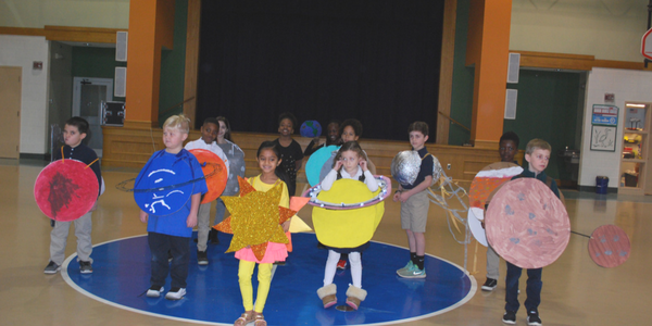 Ms. Russell's 2nd Grade Solar System Presentation