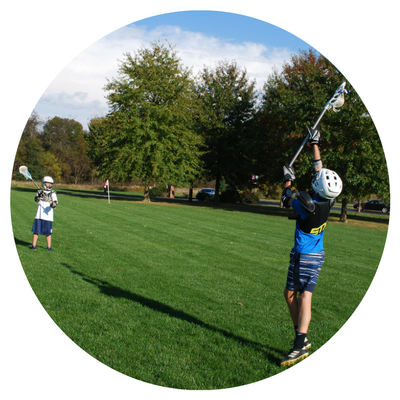 boys lacrosse clinic at st. anne's